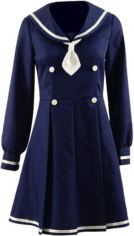 Amazon.com: Qi Pao - Traje de marinero para niñas Lolita ...