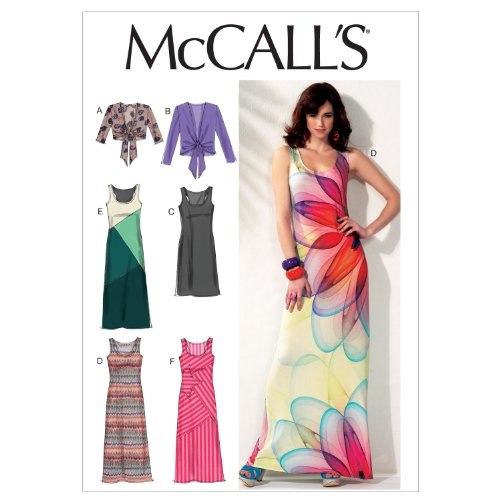 McCall Patterns M6559 Misses' Unlined Jackets and Dresses, Size E5 (14-16-18-20-22)