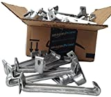 5 inch Raytec Hangtite hidden gutter hanger (100 pack)