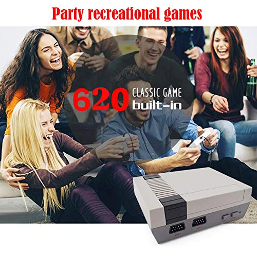 Hangyuan Mini Video Game Console Super NES Classic Games Built in 620 Games AV Out to TV for Family Recreation Dual Players 4-Button by Hangyuan (Image #5)