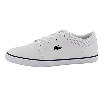 f5ec2763d359 Lacoste Men s Minzah 119 1 P Fashion Sneaker Wht NVY 8 ...