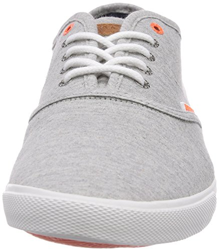 JACK & JONES JJSpider Basic Canvas Sneaker Light G M - Zapatillas Hombre Grau (Light Grey Melange)