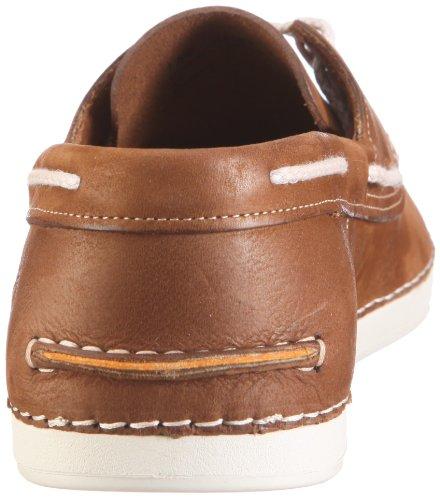 Timberland EK 2.0 BOAT NAVY NUBUCK 20514 - Zapatos de cuero para hombre Marrón (Braun/Caramel)