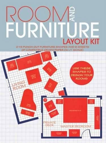 Room and Furniture Layout Kit,dover