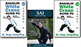 Bundle: Shaolin White Crane Kung Fu and Sai 3-DVD set (YMAA) Dr Yang, Jwing-Ming and Nicholas Yang