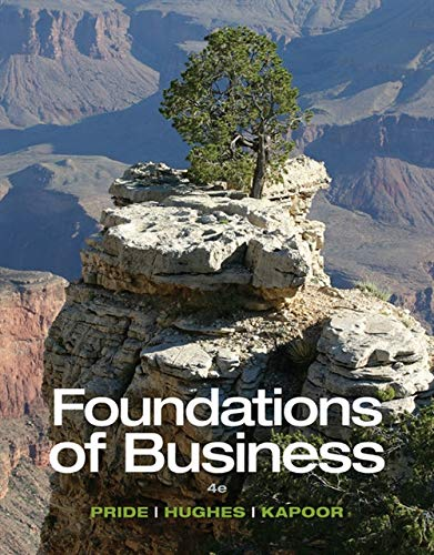 Foundations of Business - Standalone book
