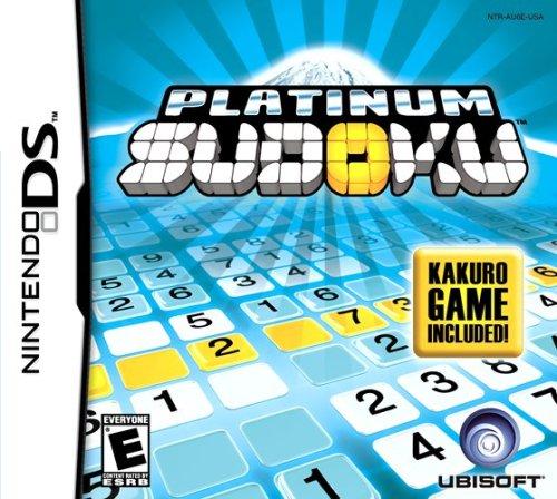 Platinum Sudoku Kakuro Included Nintendo DS product image
