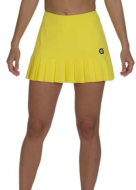a40grados Sport & Style, Falda Flip Amarilla, Mujer, Tenis y ...