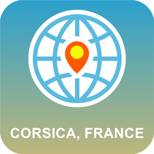 Corsica, France Map Offline