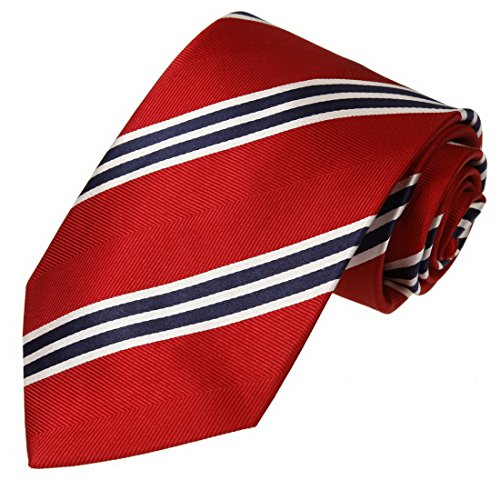 - FashionOn FAA2012 Red Stripes Discount For Mens Woven Silk Mens Necktie Quilt For Working Day