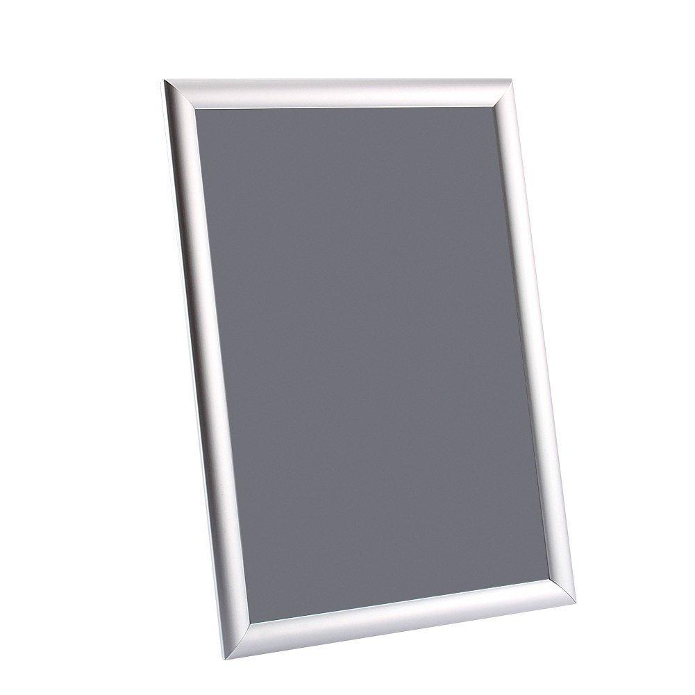 Argent Poster support Photo Tableau dAffichage /écran au mur Snap Cadre Poster Poster Holders publicit/é 42/* 29.7/cm A3/Snap Cadre
