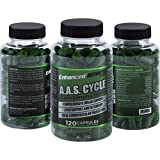 Enhanced Athlete AAS - Liver Cycle Support Supplement - Cleanse & Detox Supplement with Milk Thistle, N-Acetyl Cysteine, Saw Palmetto & Vitamin K2-120 Capsules