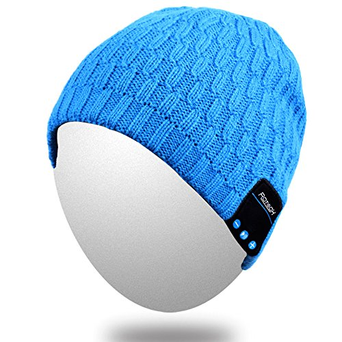 Bluetooth Beanie,Qshell Washable Music Hat Cap with Wirel...