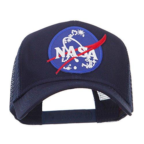 609595426563 upc lunar landing nasa patched mesh back for Miroir 50x60