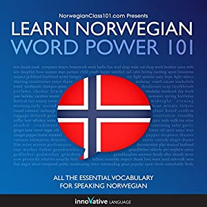 Learn Norwegian - Word Power 101 Audiobook