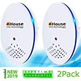 EHOUSE Electronic Indoor Plug-in - Get rid of - Rodents, Mice, Rats, Squirrels, Bats, Insects, Bed Bugs, Ants, Fleas, Mosquitos, Fly, Spiders, Roaches!