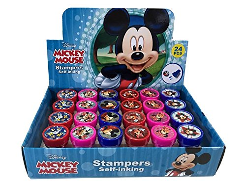 Disney Mickey Mouse 24 Stampers Party Favors (in Box) -