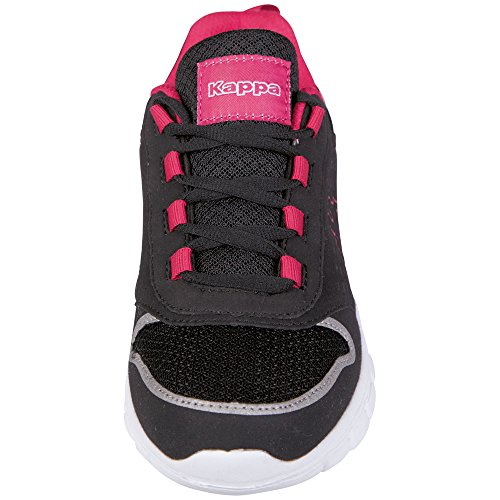 Unisex Baskets Pink Basses Kappa Adulte 1122 Mixte Footwear Noir Amora Black xvggCE