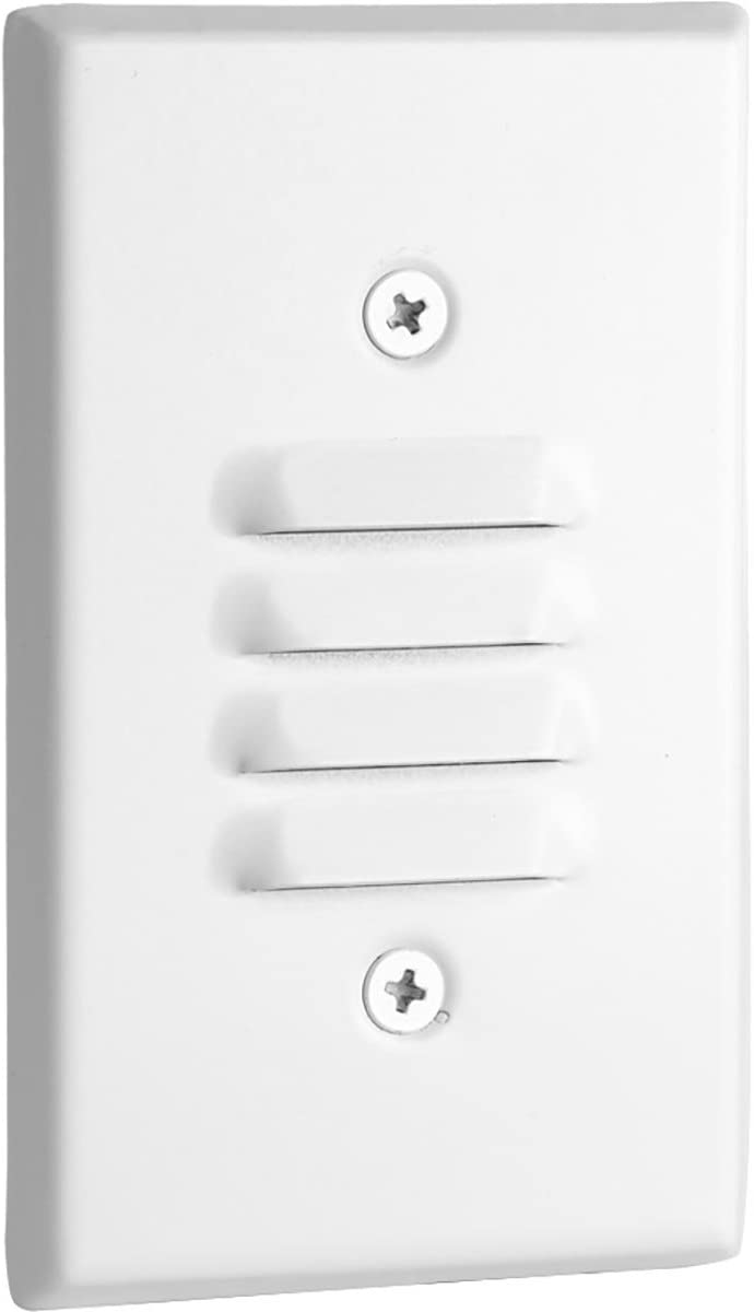 Progress Lighting P660003-028-30K Indoor Step Light, White
