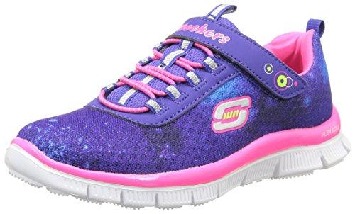 Skechers Appeal Kosmic Kid, Mädchen Sneakers Blau (BLPK)