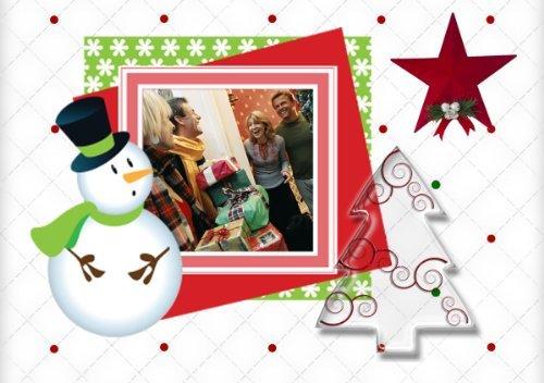 Photoshop Templates PSD for Christmas X-mas