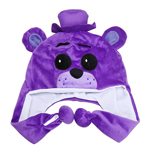[FNAF Toys Shadow Freddy Bear Plush Kids Hats] (Five Nights At Freddys Costume Mangle)
