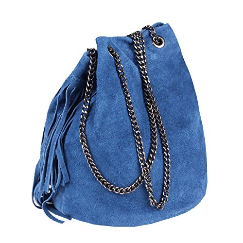 mujer 20x25x19 BxHxT Couture 20x25x19 OBC cm Cm Beautiful al Bolso hombro 20x25x19 para Cm Jeansblau Gris Only Dunkelgrau wgFqap