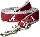 NCAA Alabama Crimson Tide Dog Leash, Medium/Large