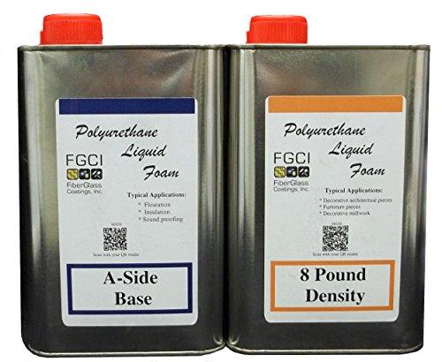 liquid-urethane-foam-kit-8-lb-density-includes-1-quart-part-a-1-quart-part-b