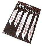 MK Morse RBP01 5 piezas Surtido Bi-metal juego de cuchillas de vaivén en bolsa