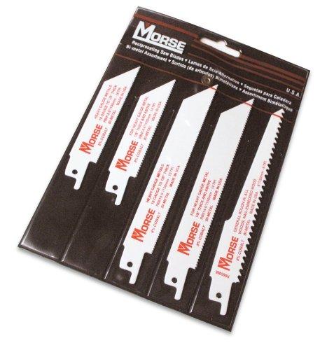 MK Morse RBP01 5 Piece Assortment Bi-Metal Reciprocating Bla