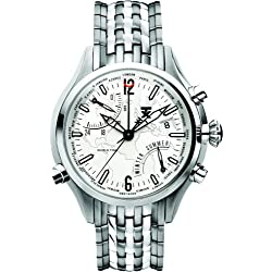 TX Men's T3B821 500 Series World Time Stainless Steel Watch
