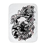 Royal Lion Baby Blanket White Zombie Apocalypse