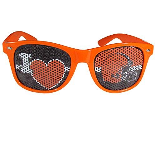- Siskiyou NFL Cleveland Browns I Heart Game Day Shades, Orange, Adult