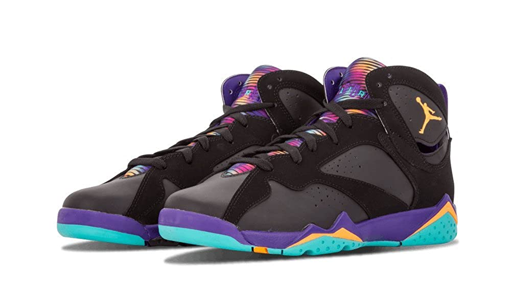 new product 5aabe f2ff6 Amazon.com   Jordan Kids Retro 7 30TH BLACK COURT PURPLE LT RETRO BRIGHT  705417-029 6.5   Basketball