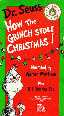Amazon.com: How the Grinch Stole Christmas!/If I Ran the Zoo ...