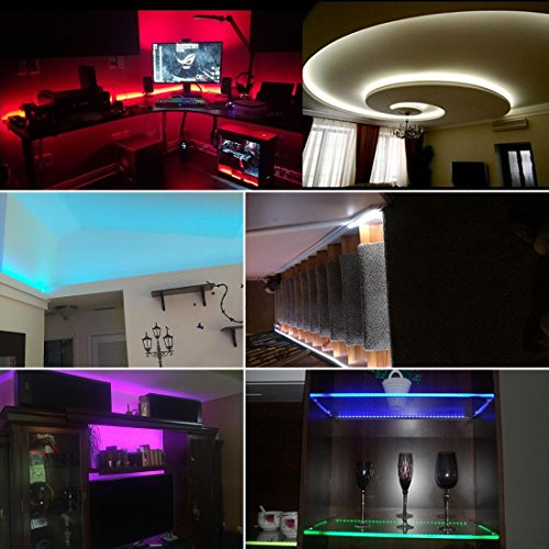 Color Changing Led Light Strips: 16.4ft/5m Strip Light Color Changing Led Strip Flexible