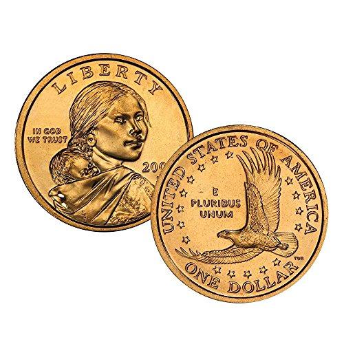 2003 P Sacagawea Dollar Single Coin Dollar Uncirculated US Mint