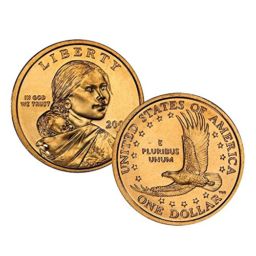 2006 P, D Native American (Sacagawea/Golden) Dollar 2 Coin Set Uncirculated