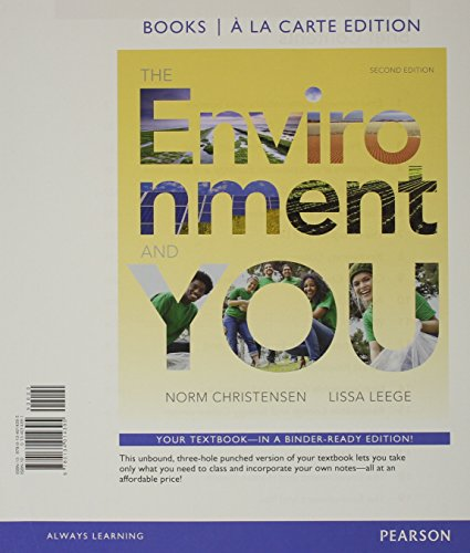 Environment and You, The, Books a la Carte Plus MasteringEnvironmentalScience -- Access Card Package (2nd Edition)