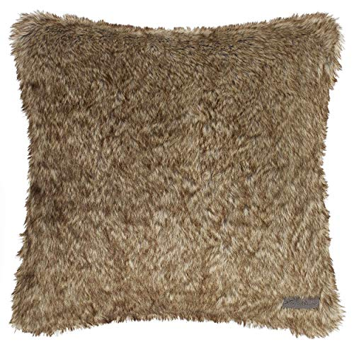 Eddie Bauer Summit Throw Pillow, 20x20, Brown