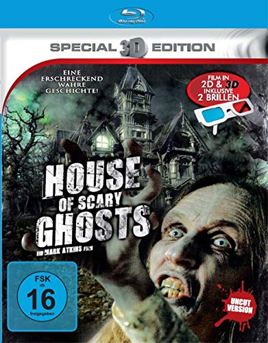 House of Scary Ghosts - Film in 3D inkl. Brillen (Brille English)
