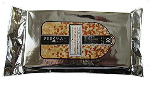 Beekman 1802 Facial Cleansing Wipes 30 ct. (Honey & Orange Blossom) by Beekman - Orange Mall Blossom