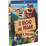 Blu-ray Trilogia O Bicho Vai Pegar [ Trilogy Open Season ] [ Audio and Subtitles in English + Portuguese + Others ] [ Region ALL ] [ Brazilian Edition ]