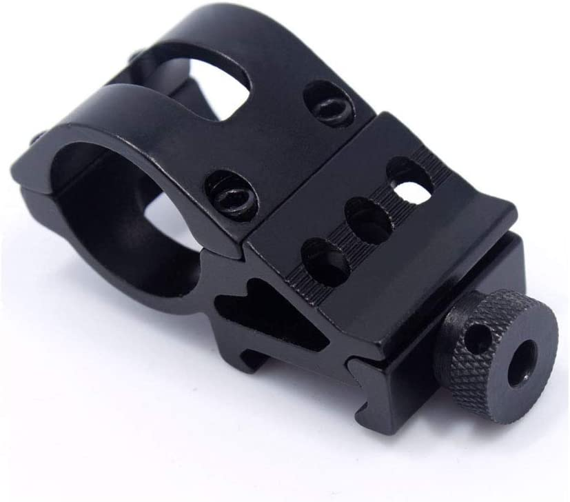 Gexgune Base de Montaje Offset de 45 Grados en /ángulo de 1 Pulgada 25.4 mm para la Vista Tejido Picatinny Rail Scope Mount