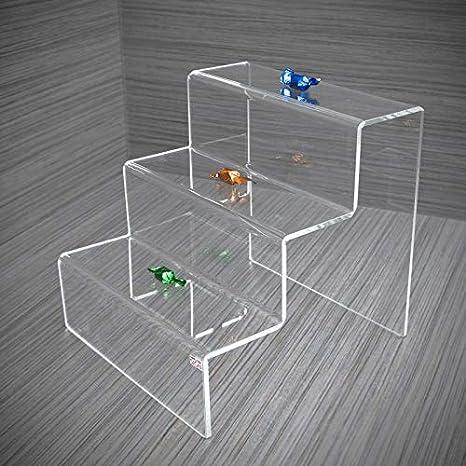 Fimel - Estante para objetos con forma de escalera, varios tamaños: Amazon.es: Hogar