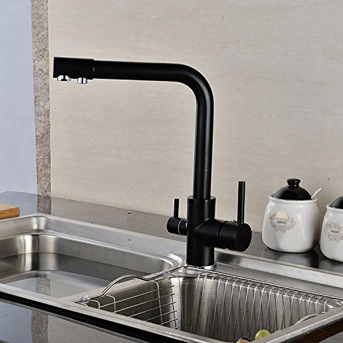 A Lpophy Bathroom Sink Mixer Taps Faucet Bath Waterfall Cold and Hot Water Tap for Washroom Bathroom and Kitchen