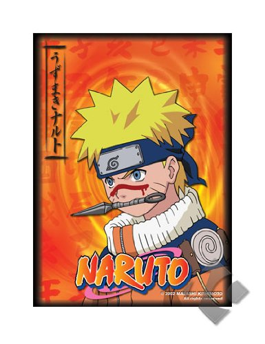 MAX Protection Naruto CCG UK Exclusive Bandai Official Limited Edition Card Sleeves - Naruto