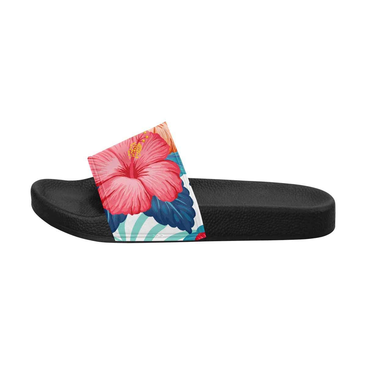 INTERESTPRINT Womens Slide Sandals for Summer US6~US12