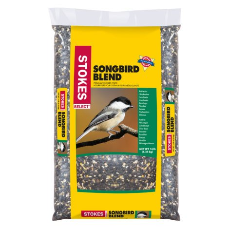 STOKES SELECT SONGBIRD BLEND BIRD FOOD 14 lbs. - Pack of 4